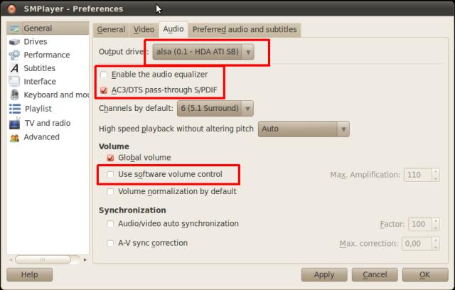 MPlayer 5 1 AC3 DTS in Ubuntu 10 04   BurgerMinds